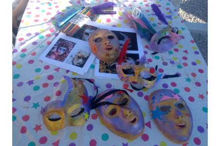 Florilège de masques de carnaval de Venise - Créations d'enfant - 10doigts.fr