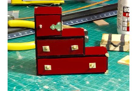 """Commode  miniature """"Tansu"""" de style japonais - Divers - 10doigts.fr"""