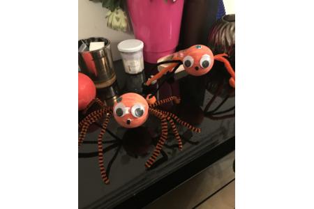 Jolies petites araignées - Créations d'enfant - 10doigts.fr