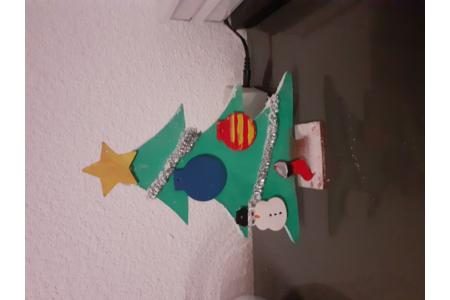 Sapin Noël de mia - Déco de la table - 10doigts.fr