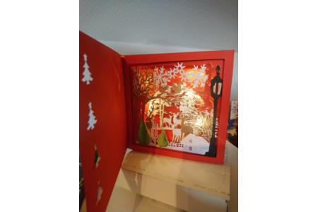 cadre déco de Noël en couleur - Cadres - 10doigts.fr