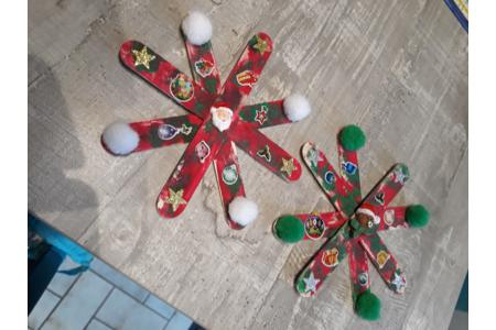 Etoile de Noel - Fêtes, déguisements - 10doigts.fr