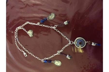 POUR MON ADORABLE NIECE FUTURE MAITRE REIKI - Perles, bracelets, colliers - 10doigts.fr