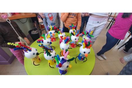 Atelier Clown - Créations d'enfant - 10doigts.fr