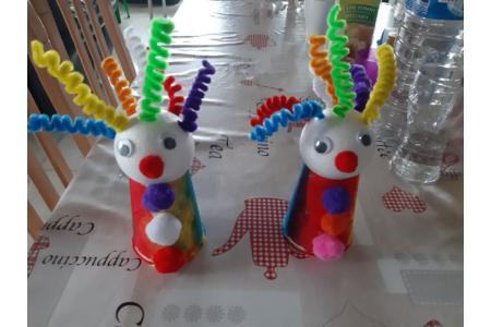 Clown - Créations d'enfant - 10doigts.fr