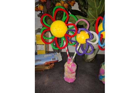 Boule de fleurs - Créations d'enfant - 10doigts.fr