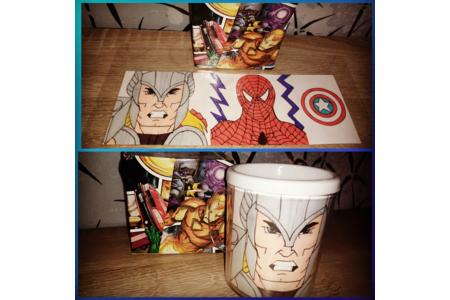 Mug Marvel - Divers - 10doigts.fr