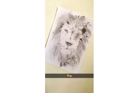 Dessin du lion - Dessin - 10doigts.fr