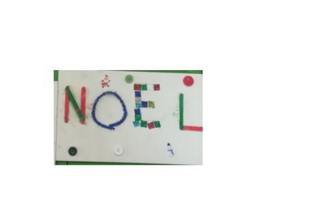 Ecrire le mot NOËL - Pâques, Noël - 10doigts.fr