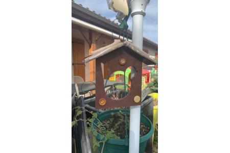 maison pour les oiseaux - Créations d'enfant - 10doigts.fr