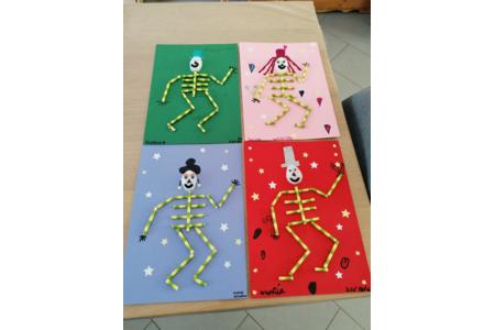 Squelettes - Fêtes, déguisements - 10doigts.fr