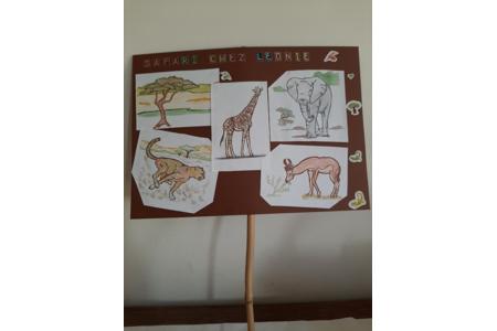 Safari - Créations d'enfant - 10doigts.fr