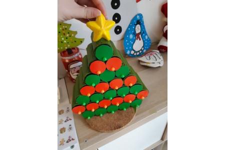 Création de calendrier de l'avent avec de la récupération - Pâques, Noël - 10doigts.fr