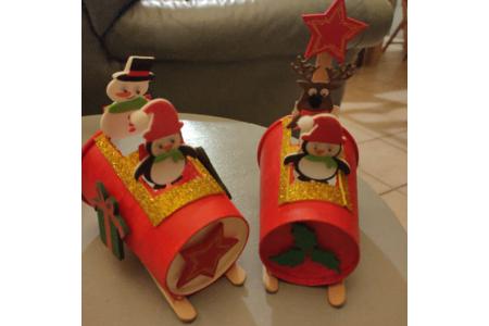 Traîneau de Noël - Déco de la table - 10doigts.fr