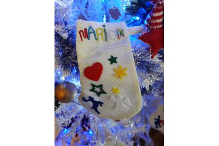 chaussette de noël - Pâques, Noël - 10doigts.fr