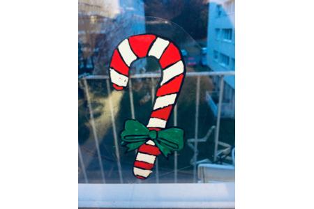 dessins à coller sur les fenêtres - Créations d'enfant - 10doigts.fr