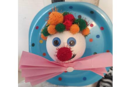 Clown carnaval - Fêtes, déguisements - 10doigts.fr