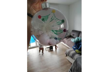 Boule de Noël - Pâques, Noël - 10doigts.fr