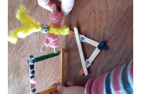 Bâtonnets - Créations d'enfant - 10doigts.fr