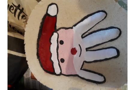 Main réaliser en pâte à sel - Pâques, Noël - 10doigts.fr