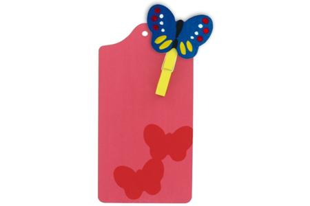 Planchette papillons - Fêtes des pères et mères - 10doigts.fr
