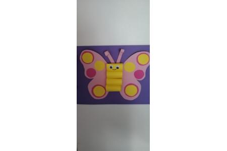 Papillon papier - Créations d'enfant - 10doigts.fr