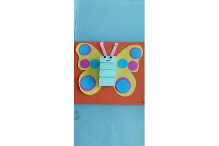 Papillon en papier - Divers - 10doigts.fr