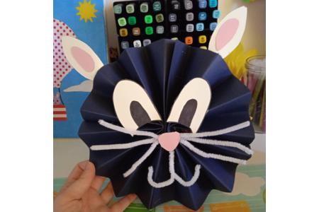 Création d'un chat en papier - Divers - 10doigts.fr