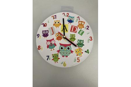 Horloge en carton - Divers - 10doigts.fr