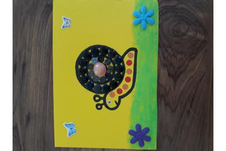 Escargot - Créations d'enfant - 10doigts.fr
