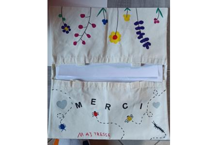 Cadeau maîtresse fin d'année - Déco du textile - 10doigts.fr