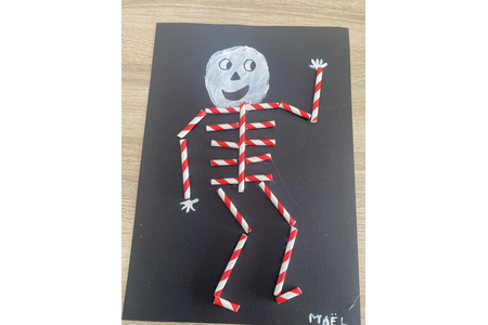 Squelette - Fêtes, déguisements - 10doigts.fr