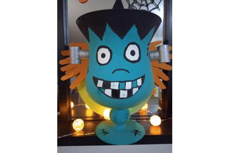 Vase customiser pour l'occasion de la fête d'Halloween - Divers - 10doigts.fr
