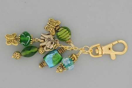 Porte-clefs - Perles, bracelets, colliers - 10doigts.fr
