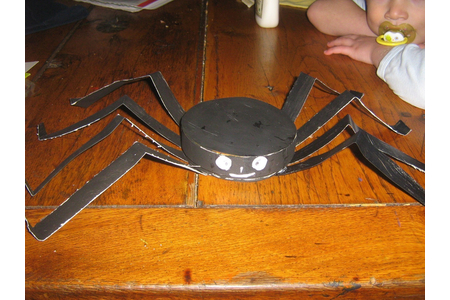 gentille araignee pour halloween - Fêtes, déguisements - 10doigts.fr