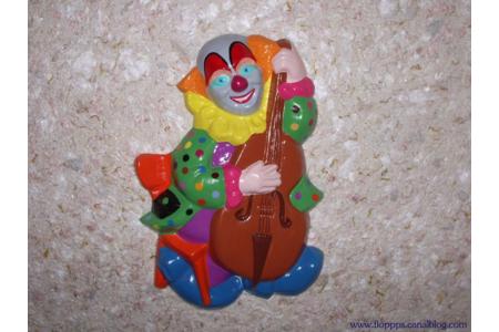 clown en platre - Moulage - 10doigts.fr
