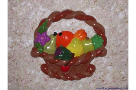 coupe de fruits en platre - Moulage - 10doigts.fr