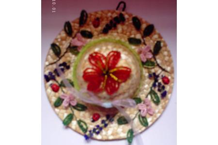 le chapeau - Perles, bracelets, colliers - 10doigts.fr