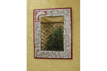 Miroir mosaique - Mosaïques - 10doigts.fr