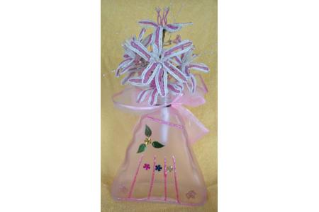 bouquet de mariee en perles de rocailles - Perles, bracelets, colliers - 10doigts.fr