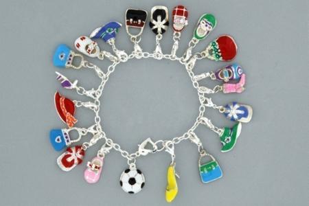 Bracelets de charm's - Perles, bracelets, colliers - 10doigts.fr