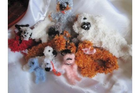 petits animaux au crochet - Laine - 10doigts.fr