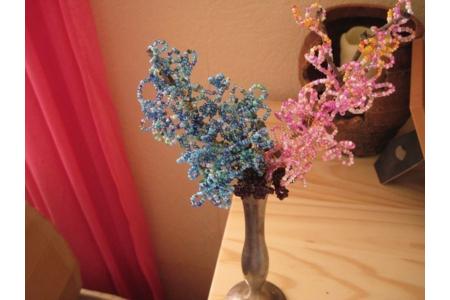 mon petit bouquet eternel - Perles, bracelets, colliers - 10doigts.fr