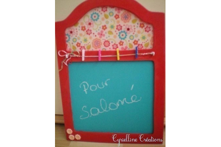 panneau mémo Salomé - Cadres - 10doigts.fr