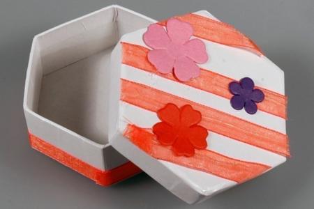 Boîte en carton - Divers - 10doigts.fr