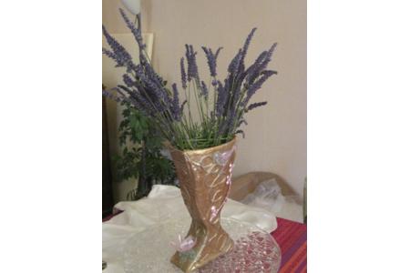 petit vase de lavande - Déco de la table - 10doigts.fr
