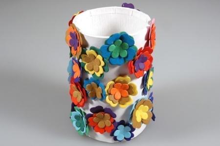Pot à crayons en carton - Divers - 10doigts.fr