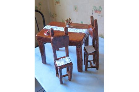 petit mobilier en carton - Divers - 10doigts.fr