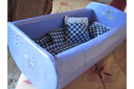 petits lits de poupees en carton - Divers - 10doigts.fr