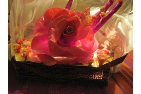 guirlande *roses* - Lampes et guirlandes - 10doigts.fr